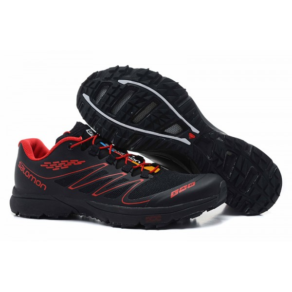 Salomon S LAB Sense Speed Trail Running In Black Shoes