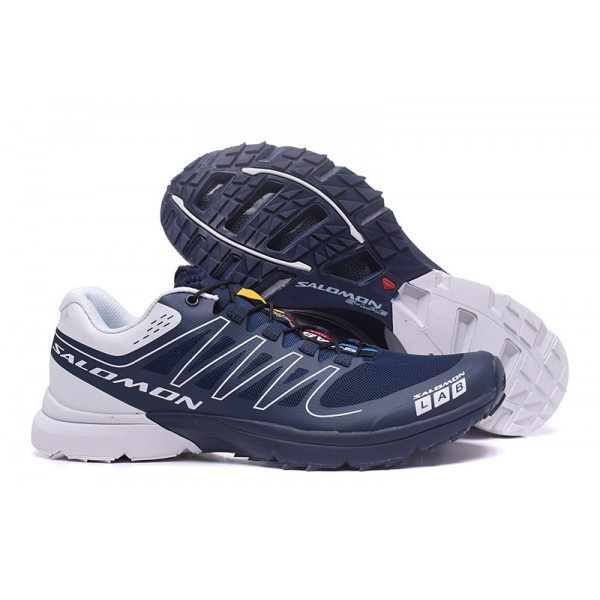 Salomon S LAB Sense Speed Trail Running In Deep Blue Shoes