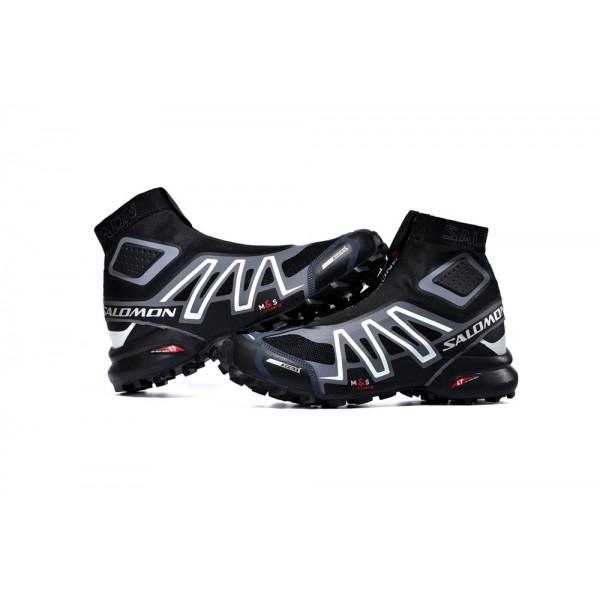 Salomon Snowcross CS Trail Running In Black Blue Shoes