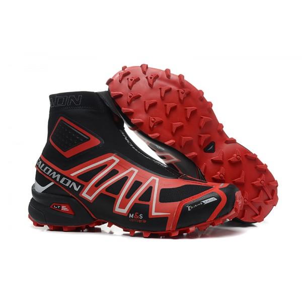Salomon Snowcross CS Trail Running In Black Orange Shoes