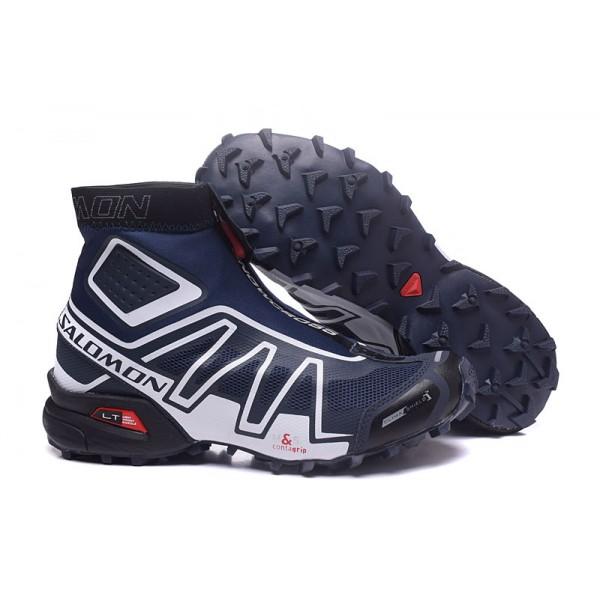 Salomon Snowcross CS Trail Running In Black Red Shoes