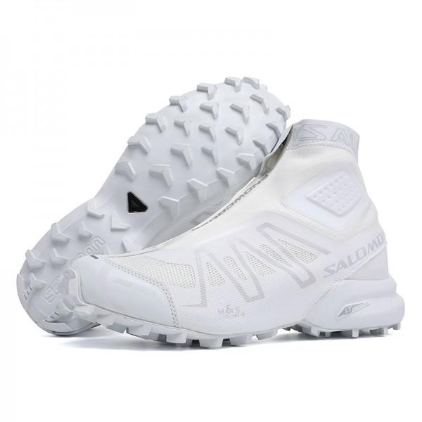 Salomon Snowcross CS Trail Running In Blue White Shoes