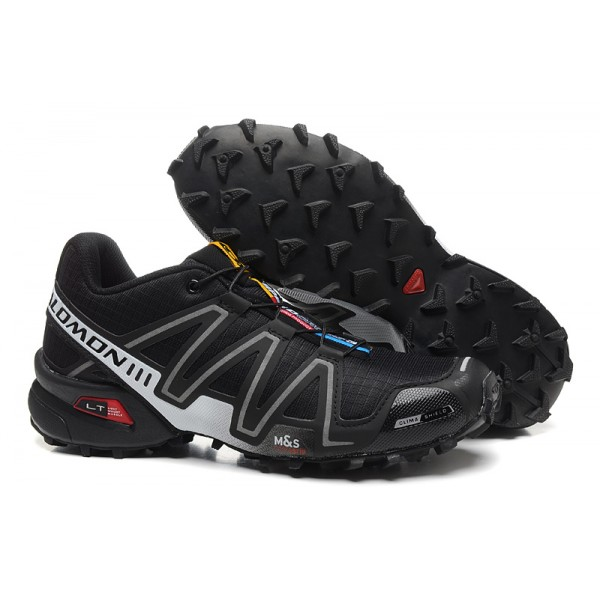 Salomon Speedcross 3 CS Trail Running In Black Fluorescent Shoes