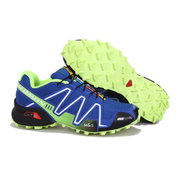 Salomon Speedcross 3 CS Trail Running In Blue Shoes