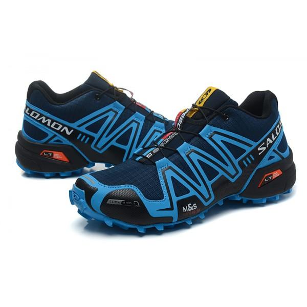 Salomon Speedcross 3 CS Trail Running In Blue Black Shoes