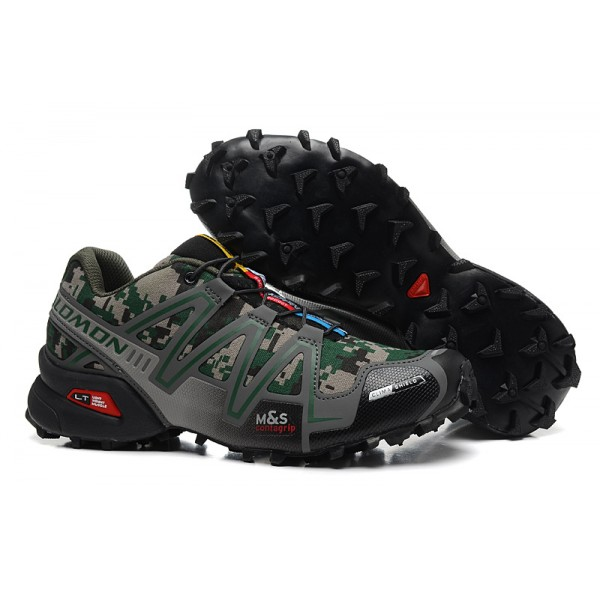 Salomon Speedcross 3 CS Trail Running In Camouflage Shoes