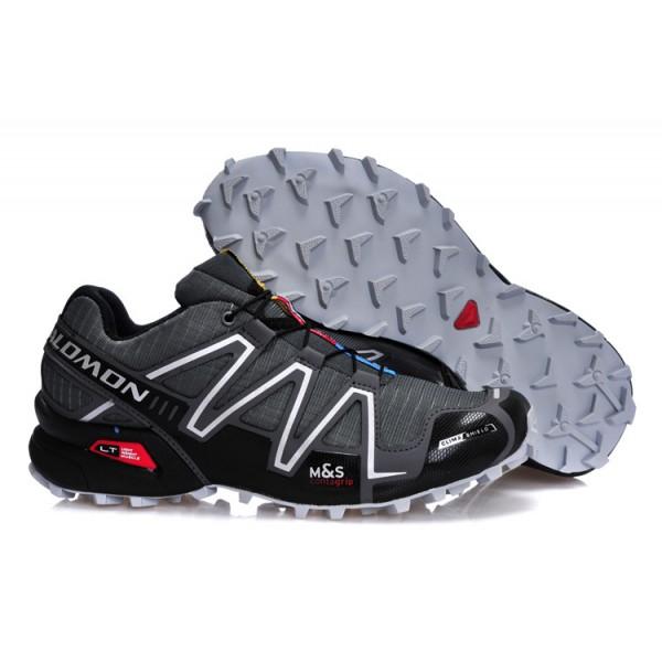 Salomon Speedcross 3 CS Trail Running In Deep Gray Shoes