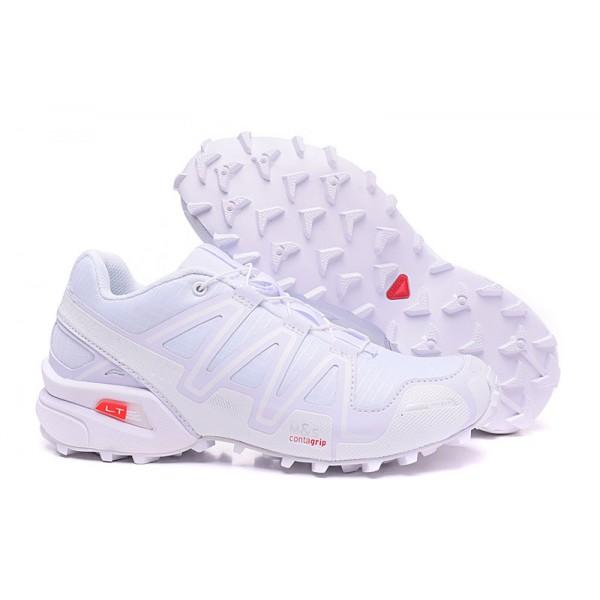 Salomon Speedcross 3 CS Trail Running In Full White Shoes