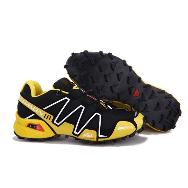 Salomon Speedcross 3 CS Trail Running In Yellow Black Shoes