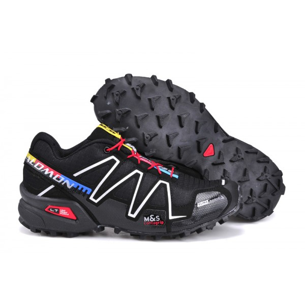 Salomon Speedcross 3 CS Trail Running In Black Silver Shoes