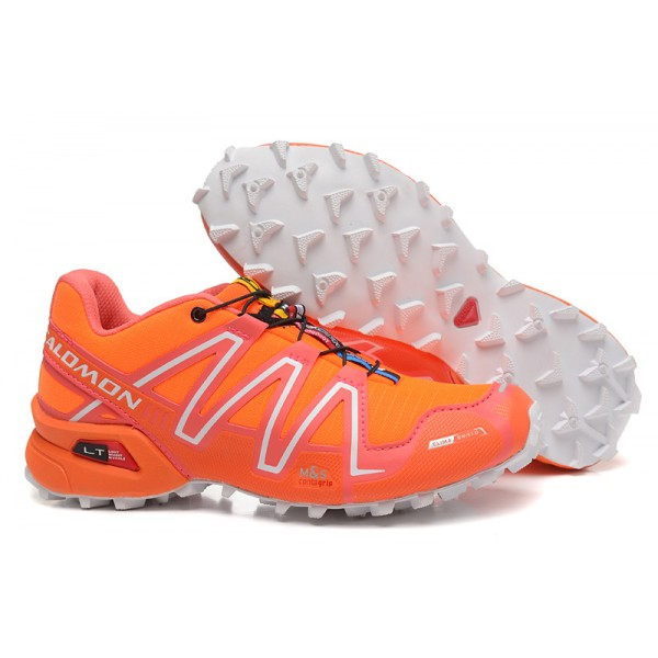 Salomon Speedcross 3 CS Trail Running In Orange Shoes
