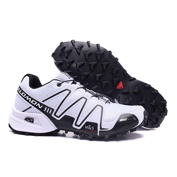 Salomon Speedcross 3 CS Trail Running In White Black Shoes