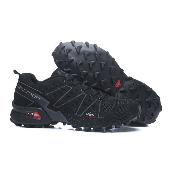 Salomon Snowcross CS Trail Running In White Shoes