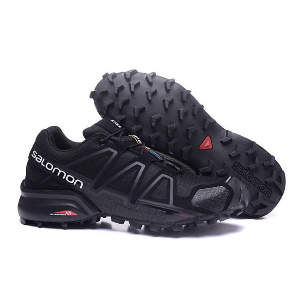 Salomon Speedcross 4 Trail Running In Black Shoes