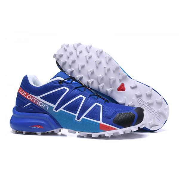 Salomon Speedcross 4 Trail Running In Blue Blue Shoes