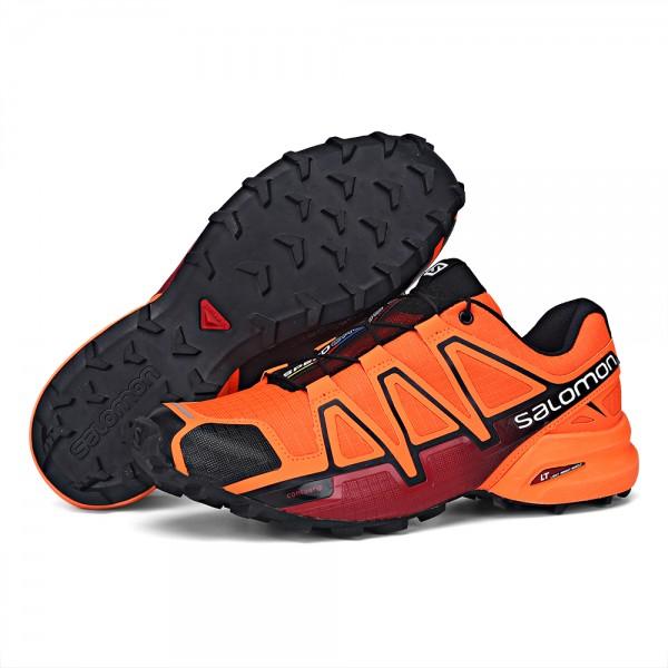 Salomon Speedcross 4 Trail Running In Orange Shoes
