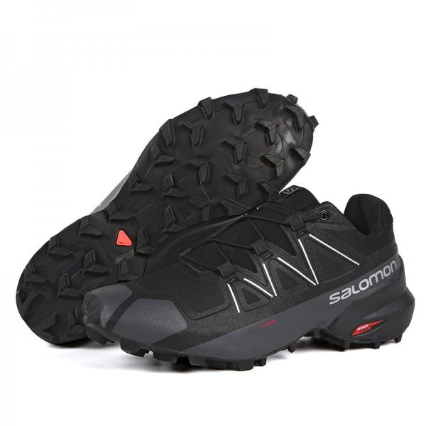 Salomon Speedcross 5 GTX Trail Running In Black Shoes