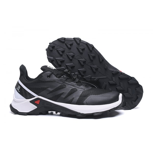 Salomon Speedcross GTX Trail Running In Black White Shoes