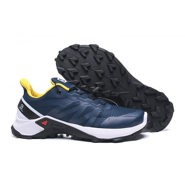 Salomon Speedcross GTX Trail Running In Deep Blue White Shoes