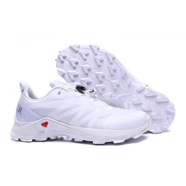 Salomon Speedcross GTX Trail Running In Full White Shoes