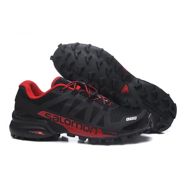 Salomon Speedcross Pro 2 Trail Running In Black Red Shoes