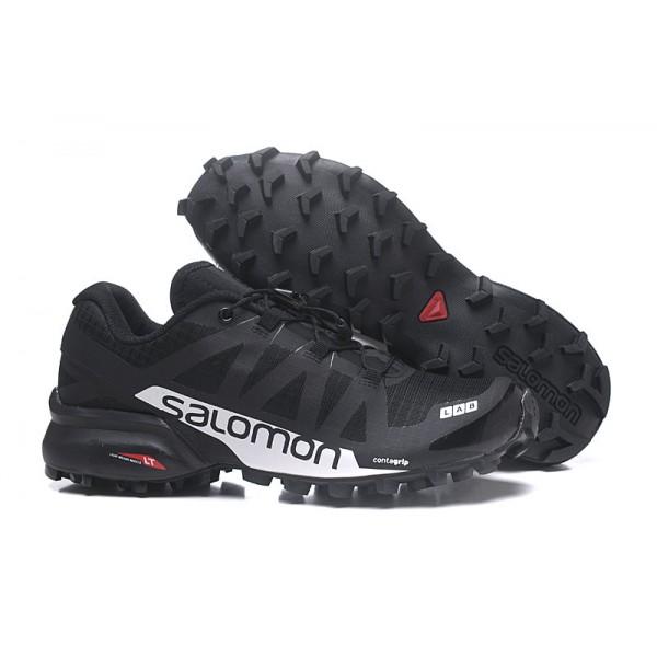Salomon Speedcross Pro 2 Trail Running In Black Silver Shoes