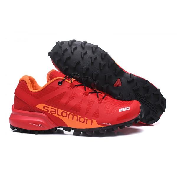 Salomon Speedcross Pro 2 Trail Running In Red Shoes