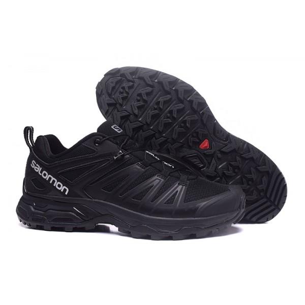 Salomon X ULTRA 3 GTX Waterproof In Full Black Shoes